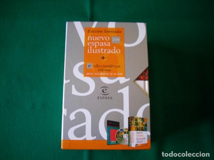 Diccionarios de segunda mano: NUEVO ESPASA ILUSTRADO MÁS 9 DICCIONARIOS EN CD - ROM - EDICIÓN LIMITADA - ESPASA - AÑO 2008 - Foto 6 - 153811030