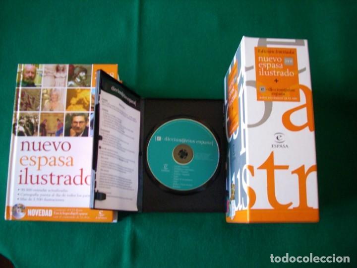 Diccionarios de segunda mano: NUEVO ESPASA ILUSTRADO MÁS 9 DICCIONARIOS EN CD - ROM - EDICIÓN LIMITADA - ESPASA - AÑO 2008 - Foto 5 - 153811030