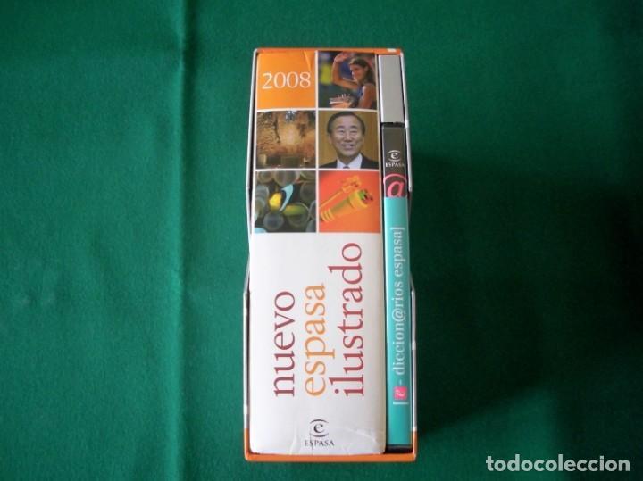 Diccionarios de segunda mano: NUEVO ESPASA ILUSTRADO MÁS 9 DICCIONARIOS EN CD - ROM - EDICIÓN LIMITADA - ESPASA - AÑO 2008 - Foto 3 - 153811030