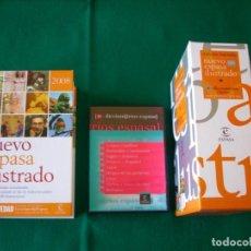 Diccionarios de segunda mano: NUEVO ESPASA ILUSTRADO MÁS 9 DICCIONARIOS EN CD - ROM - EDICIÓN LIMITADA - ESPASA - AÑO 2008. Lote 153811030