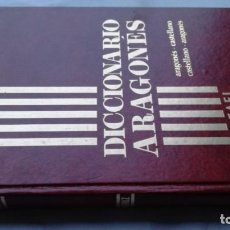 Diccionarios de segunda mano: DICCIONARIO ARAGONES - RAFAEL ANDOLZ - FABLA -ARAGON. Lote 153980766