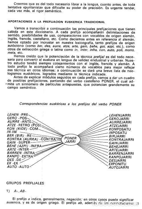 Diccionarios de segunda mano: DICCIONARIO GENERAL Y TECNICO. 1. CASTELLANO - EUSKARA. LUIS Mª MUGICA. PAIS VASCO. - Foto 14 - 154957378