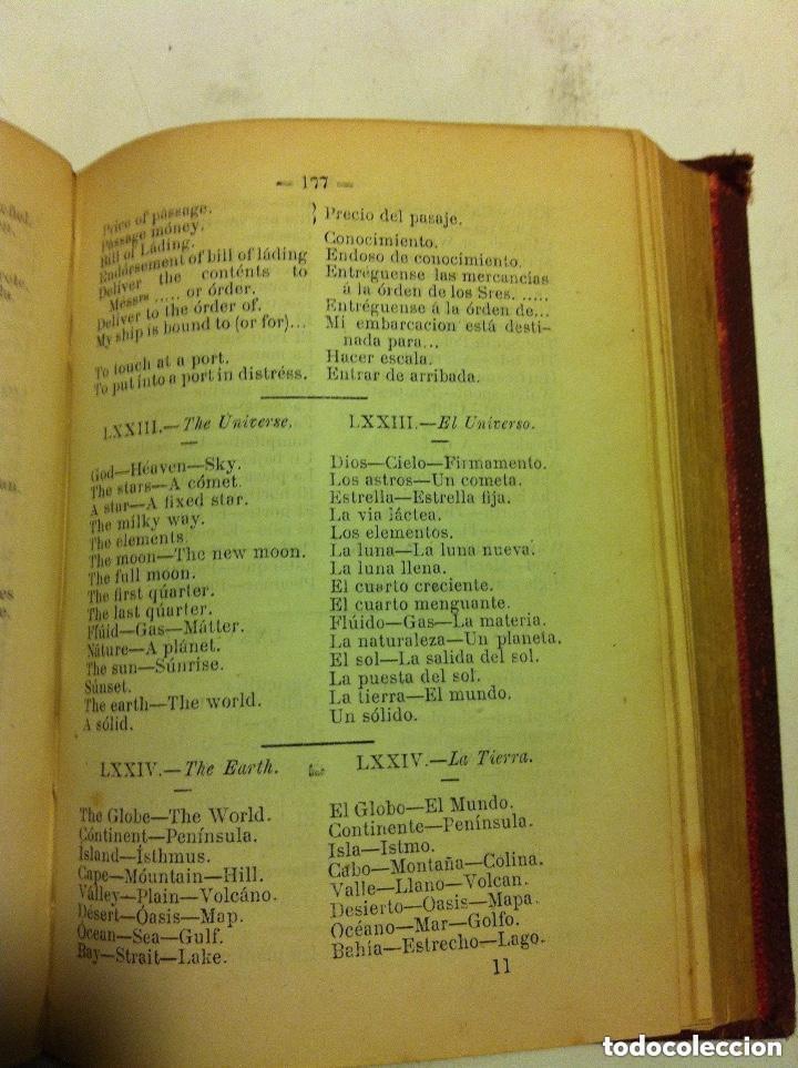 Diccionarios de segunda mano: vademecum - idioma inglés - año 1875 - Foto 4 - 155267690