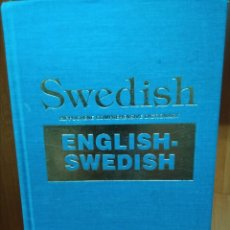 Diccionarios de segunda mano: ENGLISH-SWEDISH, HIPPOCRENE COMPREHENSIVE DICTIONARY. Lote 156478154