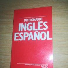 Diccionarios de segunda mano: DICCIONARIO DE BOLSILLO INGLES - ESPAÑOL VOX CONCISO BIBLOGRAF. Lote 156692565