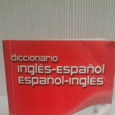 Diccionarios de segunda mano: DICCIONARIO DE BOSILLO DE INGLES.. Lote 156717450