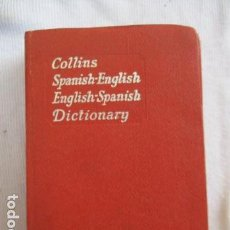 Diccionarios de segunda mano: DICCIONARIO. COLLINS. SPANISH-ENGLISH / ENGLISH-SPANISH. FORMATO DE BOLSILLO.. Lote 156923218