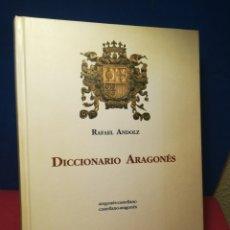 Diccionarios de segunda mano: DICCIONARIO ARAGONÉS - RAFAEL ANDOLZ - MIRA EDITORES, 1992. Lote 157007568