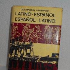 Diccionarios de segunda mano: DICCIONARIO ILUSTRADO LATINO ESPAÑOL LATÍN BIBLOGRAF 1969. Lote 157479022