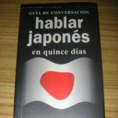Diccionarios de segunda mano - Guía de conversación, hablar japonés en quince días - 158340838