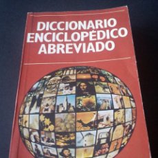 Diccionarios de segunda mano: CTC - DICCIONARIO ENCICLOPEDICO ABREVIADO TOMO 1 - EDICIONES NAUTA - 1982. Lote 158865750