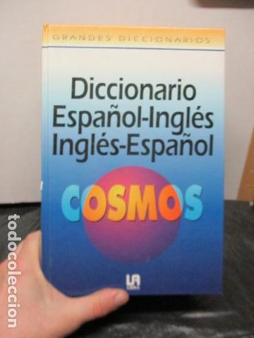 GRAN DICCIONARIO: ESPAÑOL - INGLES / COSMOS - CASI 1.400 PAG. (Libros de Segunda Mano - Diccionarios)