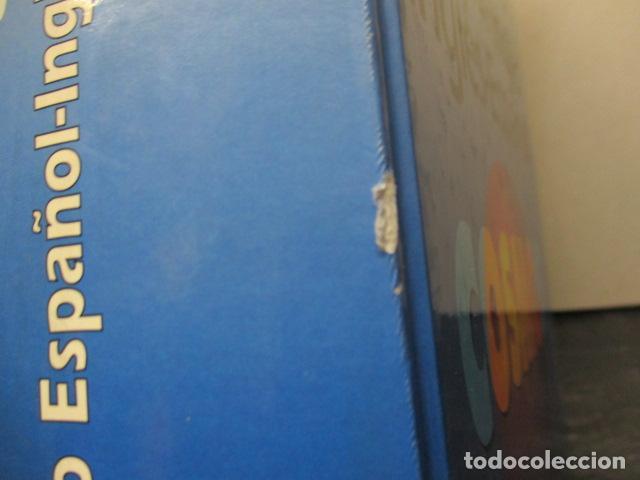 Diccionarios de segunda mano: GRAN DICCIONARIO: ESPAÑOL - INGLES / COSMOS - CASI 1.400 PAG. - Foto 3 - 159799814