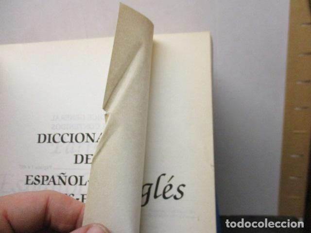 Diccionarios de segunda mano: GRAN DICCIONARIO: ESPAÑOL - INGLES / COSMOS - CASI 1.400 PAG. - Foto 8 - 159799814