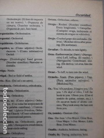 Diccionarios de segunda mano: GRAN DICCIONARIO: ESPAÑOL - INGLES / COSMOS - CASI 1.400 PAG. - Foto 10 - 159799814