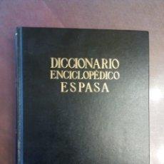 Libri di seconda mano: DICCIONARIO ENCICLOPEDICO ESPASA (18 TOMOS). Lote 160152010