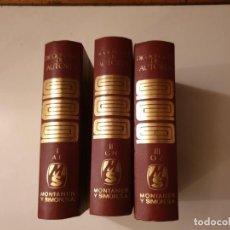 Diccionarios de segunda mano: DICCIONARIO DE AUTORES -MONTANER I SIMON . 1973. Lote 160407026