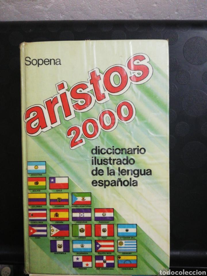 DICCIONARIO ILUSTRADO DE LA LENGUA ESPAÑOLA ARISTOS 2000 .EDITORIAL SOPENA (Libros de Segunda Mano - Diccionarios)
