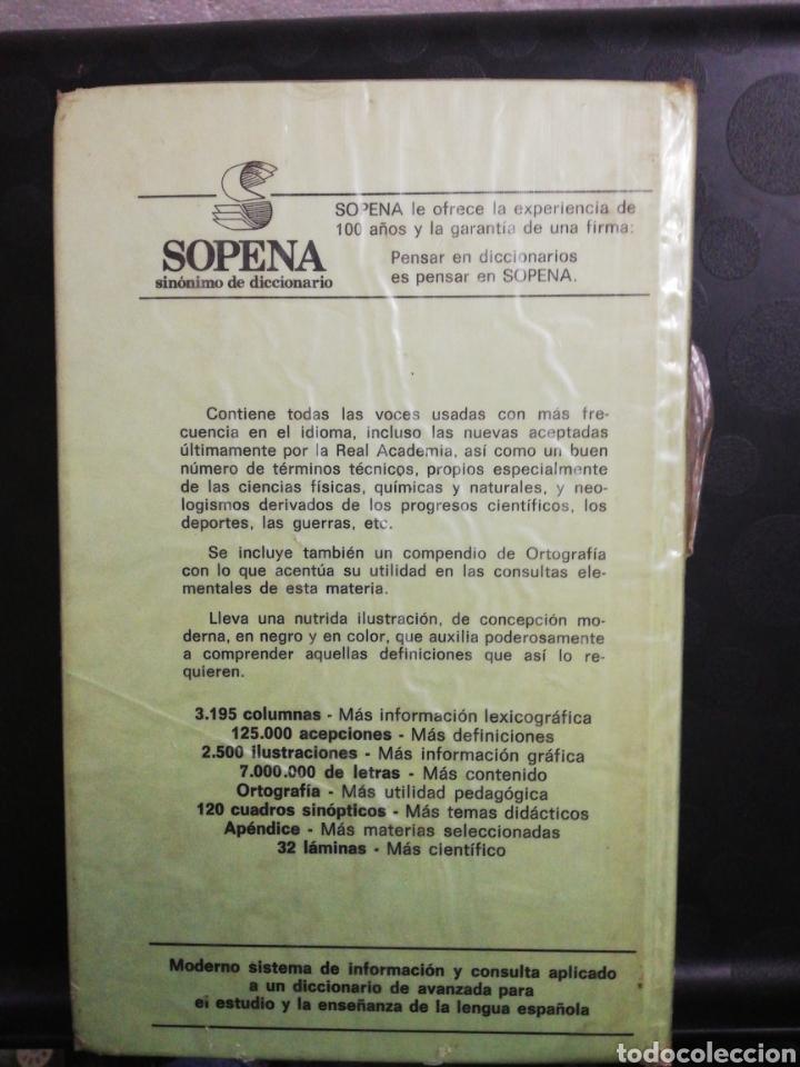 Diccionarios de segunda mano: Diccionario ilustrado de la lengua española aristos 2000 .Editorial sopena - Foto 2 - 160728141
