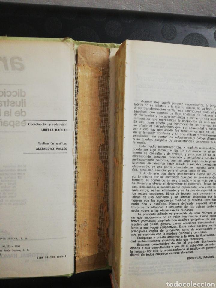 Diccionarios de segunda mano: Diccionario ilustrado de la lengua española aristos 2000 .Editorial sopena - Foto 3 - 160728141