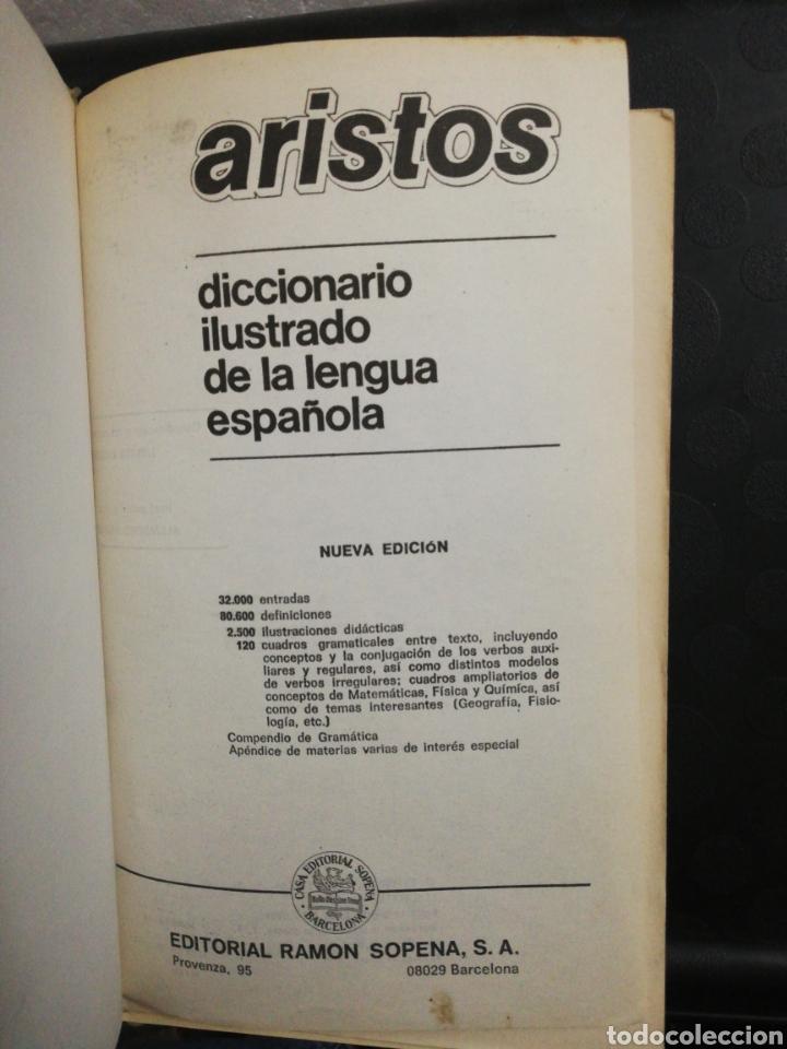 Diccionarios de segunda mano: Diccionario ilustrado de la lengua española aristos 2000 .Editorial sopena - Foto 4 - 160728141
