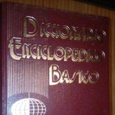 Diccionarios de segunda mano: DICCIONARIO ENCICLOPÉDICO BÁSICO. Lote 160812678