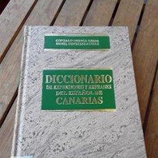Diccionarios de segunda mano: DICCIONARIO DE EXPRESIONES Y REFRANES DEL ESPAÑOL DE CANARIAS. RARO. EXCELENTE ESTADO. GONZALO ORTEG. Lote 161918702