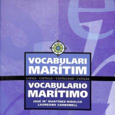 Diccionarios de segunda mano: VOCABULARIO MARÍTIMO. Lote 162727526