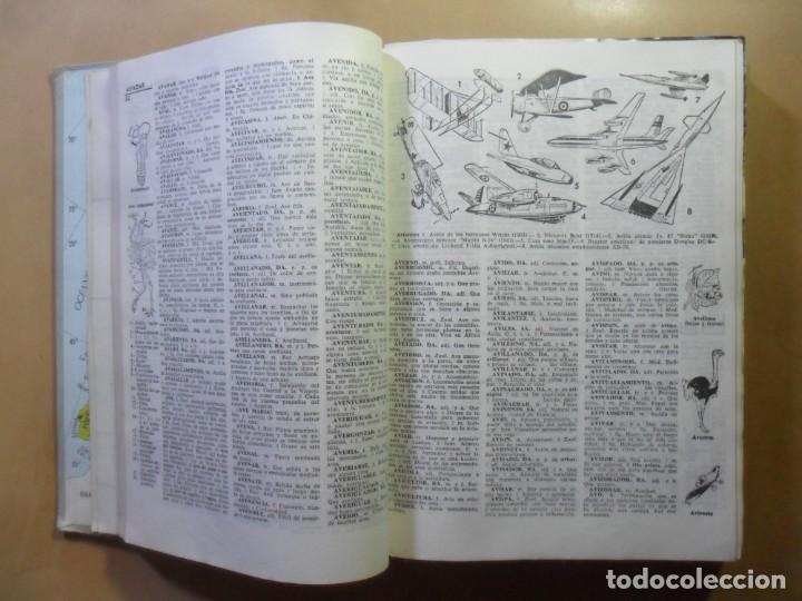 Diccionarios de segunda mano: ARISTOS - DICCIONARIO ILUSTRADO DE LA LENGUA ESPAÑOLA - ED. RAMON SOPENA - 1973 - Foto 3 - 163003730