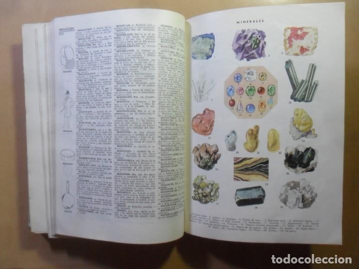 Diccionarios de segunda mano: ARISTOS - DICCIONARIO ILUSTRADO DE LA LENGUA ESPAÑOLA - ED. RAMON SOPENA - 1973 - Foto 7 - 163003730