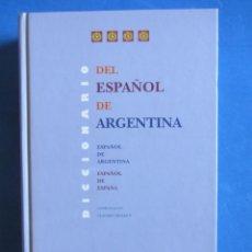 Diccionarios de segunda mano: DICCIONARIO DEL ESPAÑOL DE ARGENTINA. CLAUDIO CHUCHUY. GREDOS 2000. Lote 163475790