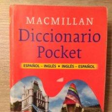 Diccionarios de segunda mano: DICCIONARIO POCKET ** ESPAÑOL/INGLES INGLES/ESPAÑOL. Lote 163516974
