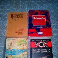 Diccionarios de segunda mano: LOTE DE 3 DICCIONARIOS Y 1 ENCICLOPEDIA. Lote 164891017