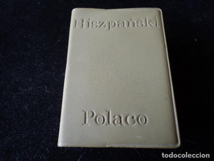 PEQUEÑO DICCIONARIO ESPAÑOL POLACO - POLACO ESPAÑOL 1968 9 X 7 CM (Libros de Segunda Mano - Diccionarios)
