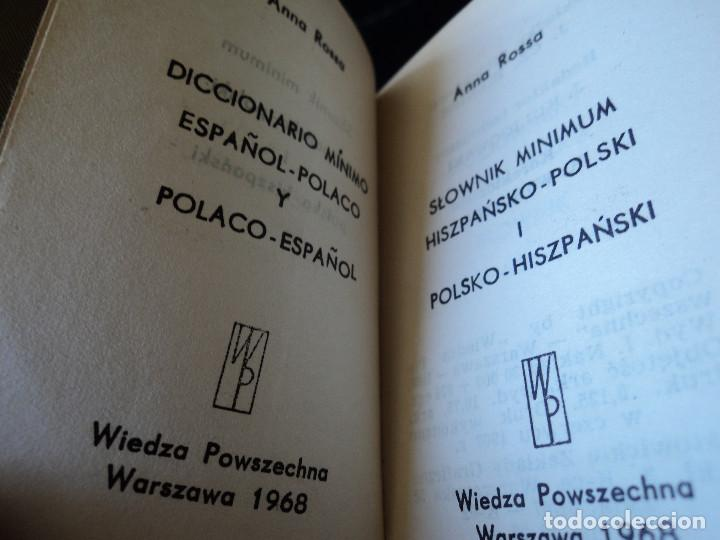 Diccionarios de segunda mano: PEQUEÑO DICCIONARIO ESPAÑOL POLACO - POLACO ESPAÑOL 1968 9 X 7 CM - Foto 2 - 165011026