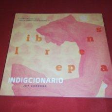 Diccionarios de segunda mano: JEP CARDONA, INDIGCIONARIO. Lote 165133766