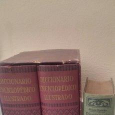 Diccionarios de segunda mano: DICCIONARIO ENCICLOPEDICO ILUSTRADO 2 TOMOS + DICCIONARIO ATILANO RANCES LENGUA ESPAÑOLA. Lote 165188230