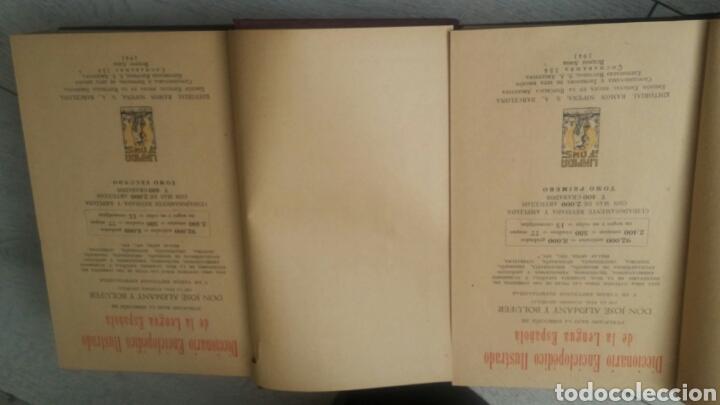 Diccionarios de segunda mano: DICCIONARIO ENCICLOPEDICO ILUSTRADO 2 TOMOS + DICCIONARIO ATILANO RANCES LENGUA ESPAÑOLA - Foto 2 - 165188230