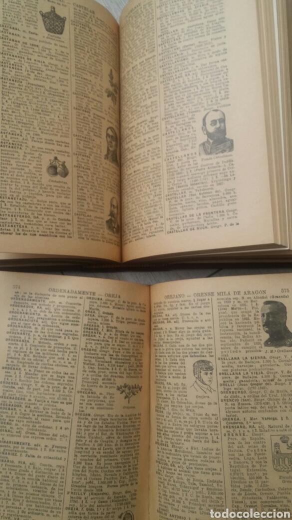 Diccionarios de segunda mano: DICCIONARIO ENCICLOPEDICO ILUSTRADO 2 TOMOS + DICCIONARIO ATILANO RANCES LENGUA ESPAÑOLA - Foto 3 - 165188230