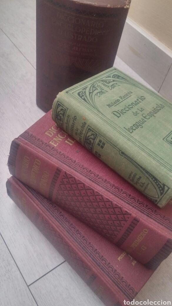 Diccionarios de segunda mano: DICCIONARIO ENCICLOPEDICO ILUSTRADO 2 TOMOS + DICCIONARIO ATILANO RANCES LENGUA ESPAÑOLA - Foto 6 - 165188230
