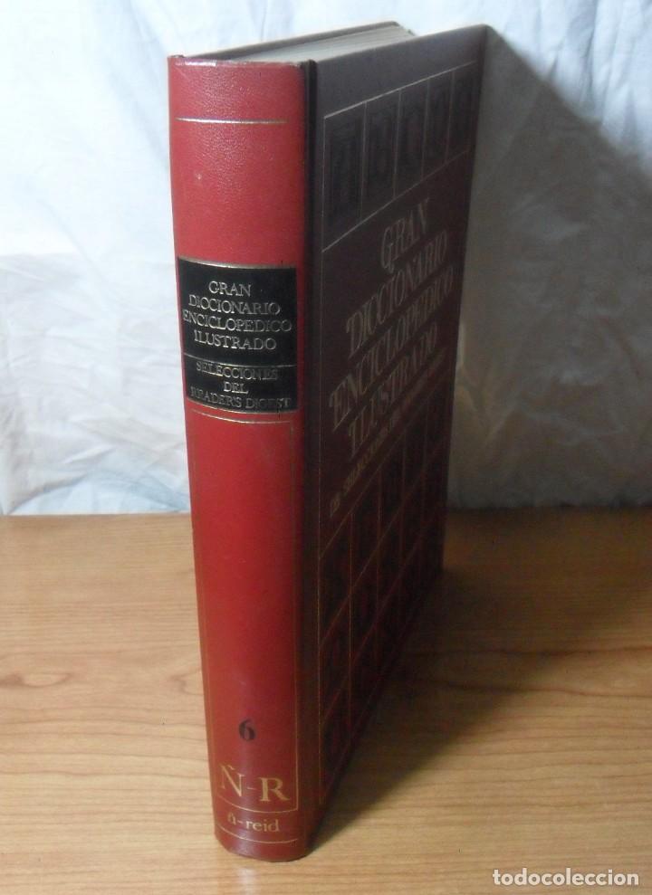 GRAN DICCIONARIO ENCICLOPEDICO ILUSTRADO - 6 - SELECCIONES DEL READER'S DIGEST (Libros de Segunda Mano - Diccionarios)