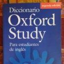 Diccionarios de segunda mano: DICCIONARIO INGLÉS-ESPAÑOL OXFORD STUDY NIVEL INTERMEDIO AVANZADO B1, B2, C1. Lote 165788348