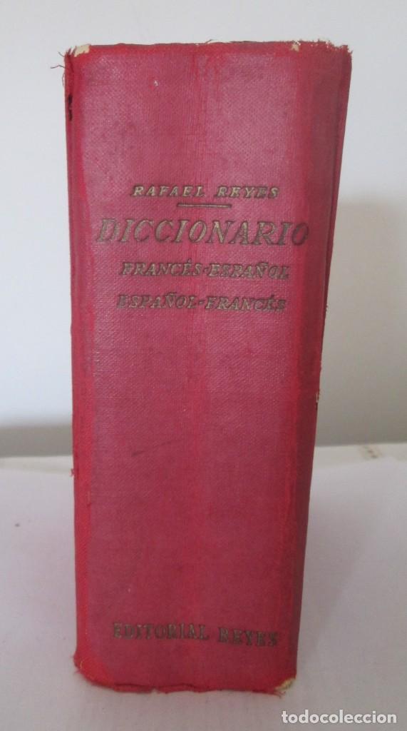 Diccionarios de segunda mano: Diccionario Francés-Español y Español-Francés, Rafael Reyes. Edición de 1961 - Foto 2 - 166108462