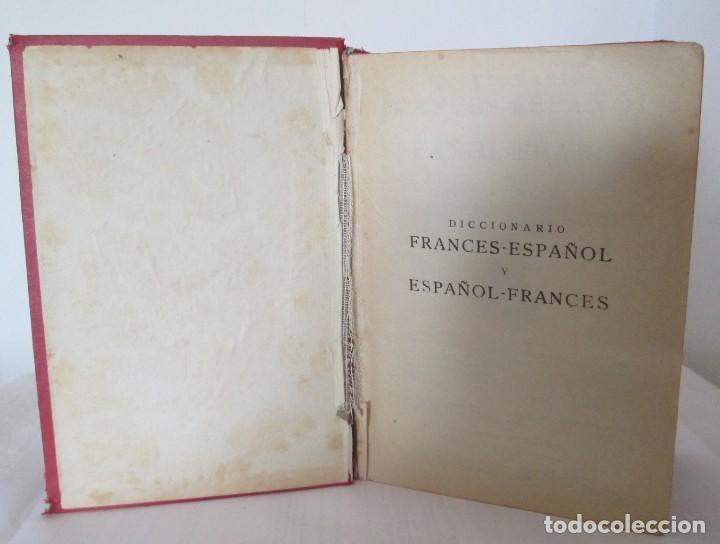 Diccionarios de segunda mano: Diccionario Francés-Español y Español-Francés, Rafael Reyes. Edición de 1961 - Foto 4 - 166108462