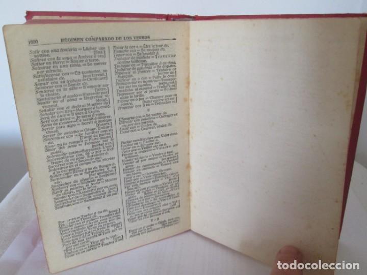 Diccionarios de segunda mano: Diccionario Francés-Español y Español-Francés, Rafael Reyes. Edición de 1961 - Foto 7 - 166108462