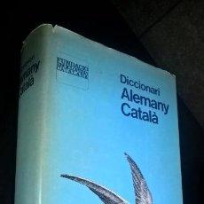 Diccionarios de segunda mano: DICCIONARI ALEMANY CATALA. FUNDACIO ENCICLOPEDIA CATALANA. 1ª EDICIO 1981. LLUIS C. BATLLE I GUNTHER. Lote 166242118