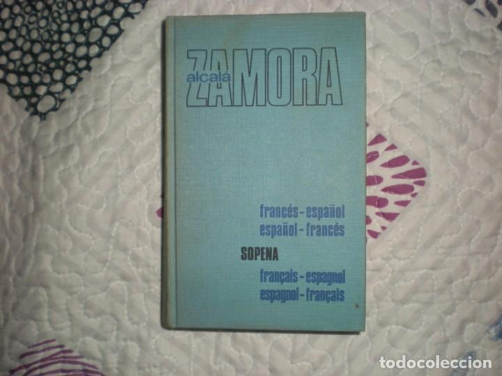 DICCIONARIO FRANCÉS-ESPAÑOL,ESPAÑOL-FRANCÉS;P.ALCALÁ-ZAMORA;SOPENA 1974 (Libros de Segunda Mano - Diccionarios)