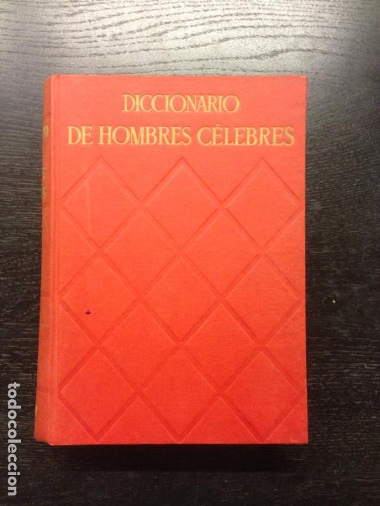 DICCIONARIO DE HOMBRES CELEBRES, GRIGSON, G. Y GIBBS-SMITH, CH. H., 1960 (Libros de Segunda Mano - Diccionarios)