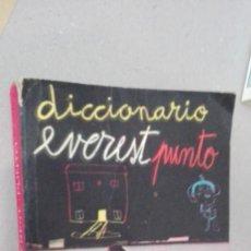 Diccionarios de segunda mano: DICCIONARIO DE BOLSILLO EVEREST PUNTO 1966. Lote 166899708