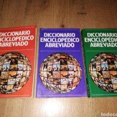 Diccionarios de segunda mano: DICCIONARIO ENCICLOPÉDICO ABREVIADO EDICIÓN NAUTA. Lote 167418070